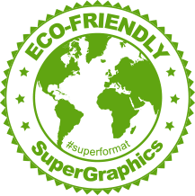 Supergraphics Eco Friendly Stamp