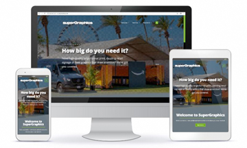 SuperGraphics Website Launch