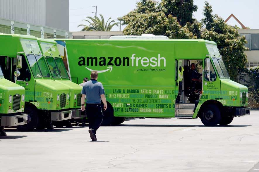 SuperGraphics Amazon Fresh Fleet Truck Wraps