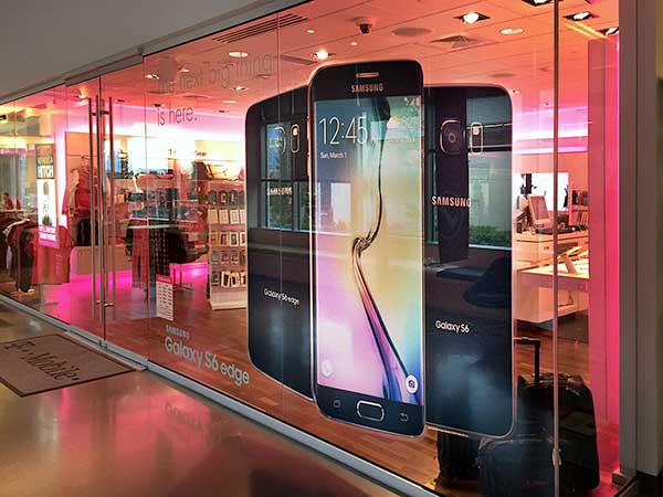 T-Mobile Retail Window Graphics