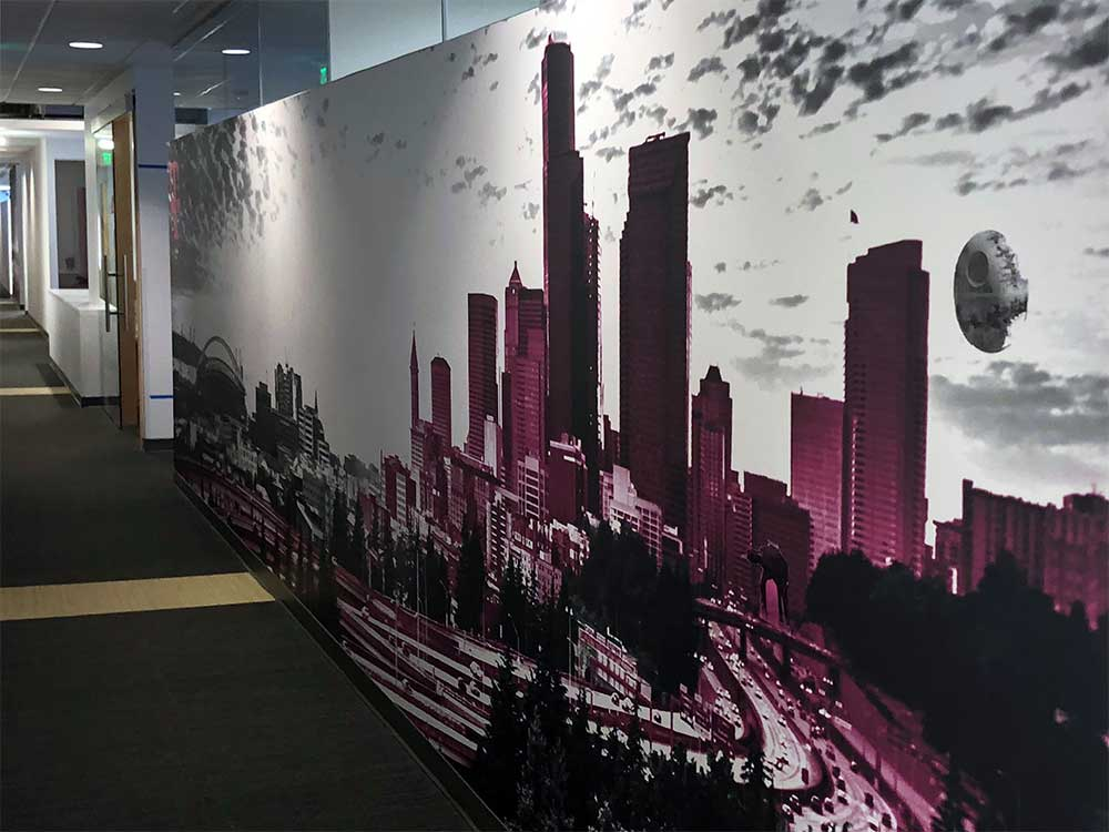 T-Mobile Environmental Wall Graphics